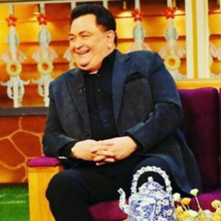 RIP Rishi Kapoor: Kapil Sharma bids goodbye to the actor as he shares their photo from the sets of TKSS