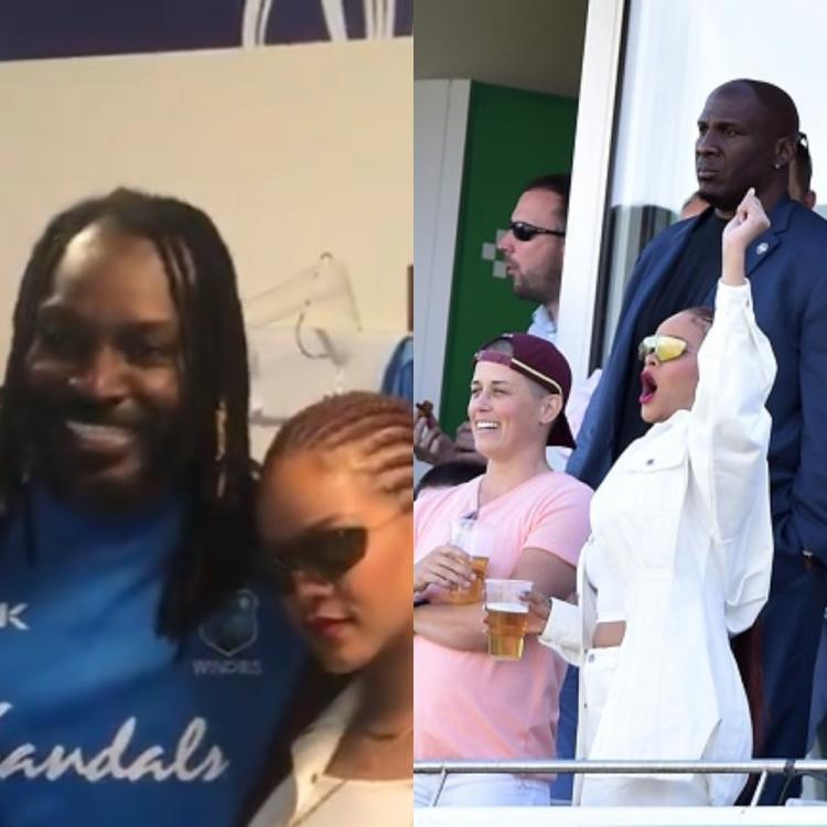 rihanna,Chris Gayle,Hollywood,ICC World Cup 2019