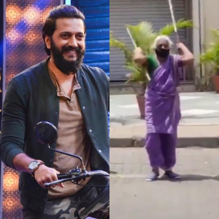 Riteish Deshmukh asks for contact details of 'Warrior Aaji' after her roadside martial arts VIDEO goes viral