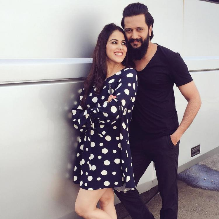 Riteish and Genelia Deshmukh donates 25 lakhs for Chief Minister Relief Fund