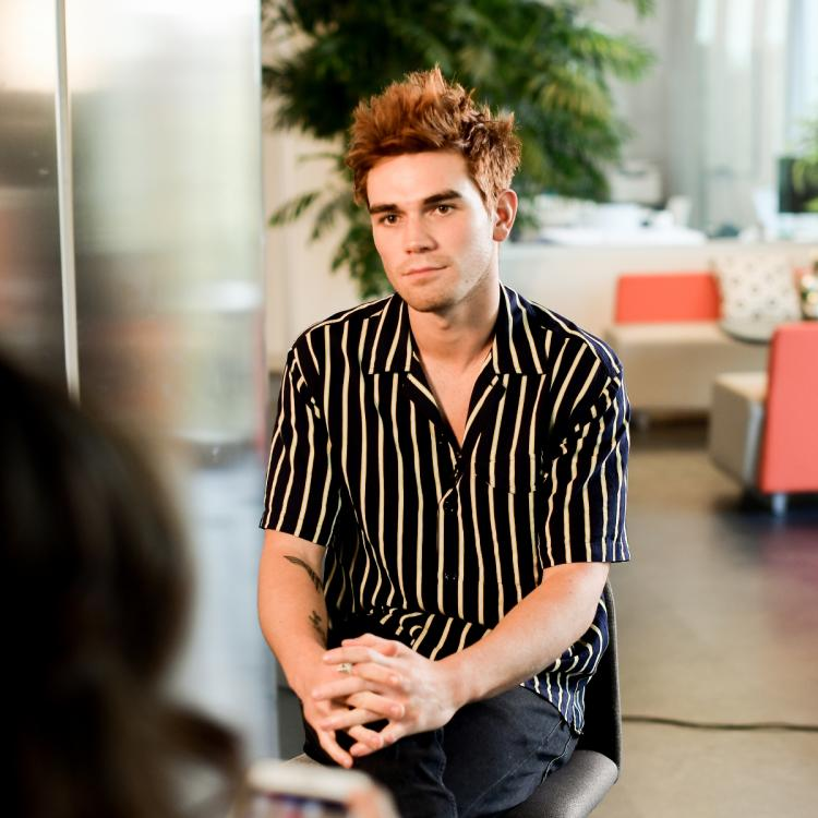 Riverdale actor KJ Apa splits his head open while performing stunts for his new movie Songbird