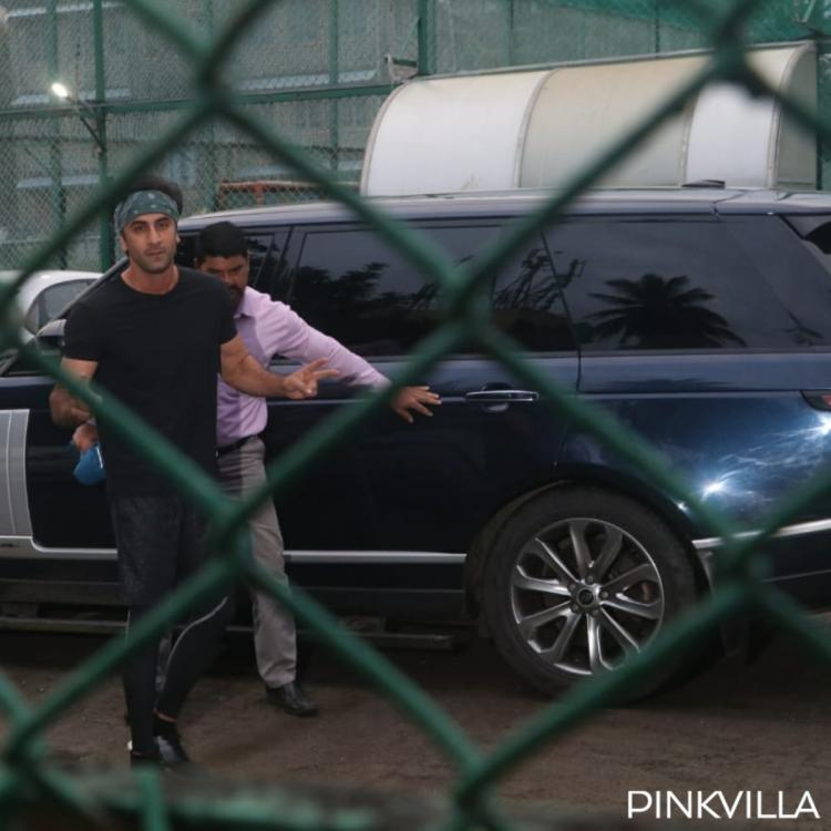 PHOTOS: Ranbir Kapoor is all geared up for his football match