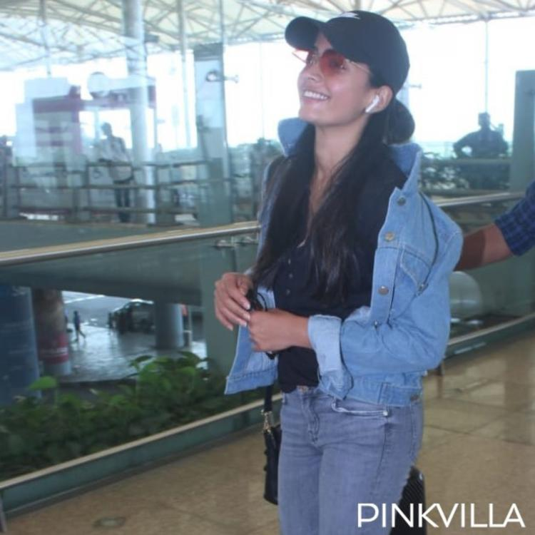 PHOTOS: Dear Comrade actress Rashmika Mandanna spotted in a casual look at the airport