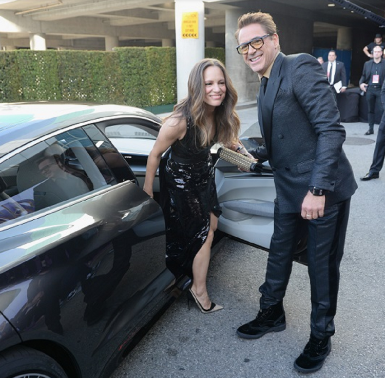 Avengers Endgame LA Premiere: Robert Downey Jr and his wife look spectacular in all black outfits; View Post