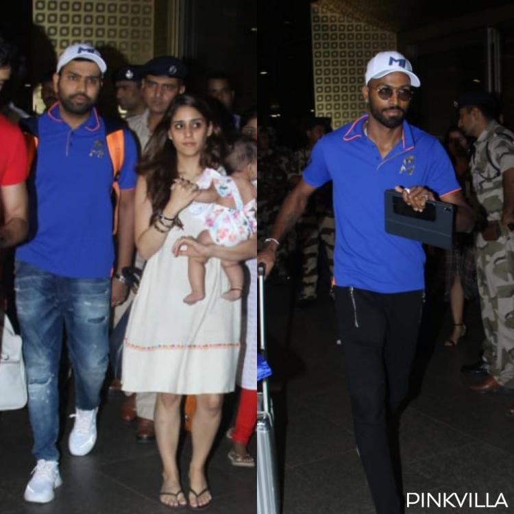 IPL 2019: Mumbai Indians players Rohit Sharma, Hardik Pandya & others are all smiles as they return to the bay