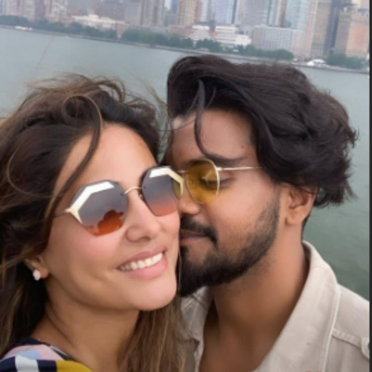 Hina Khan & Rocky Jaiswal are giving major couple goals as they enjoy their NYC vacay; View PICS
