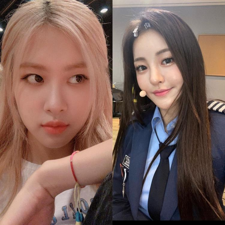 BLACKPINK's Rosé came second in the list
