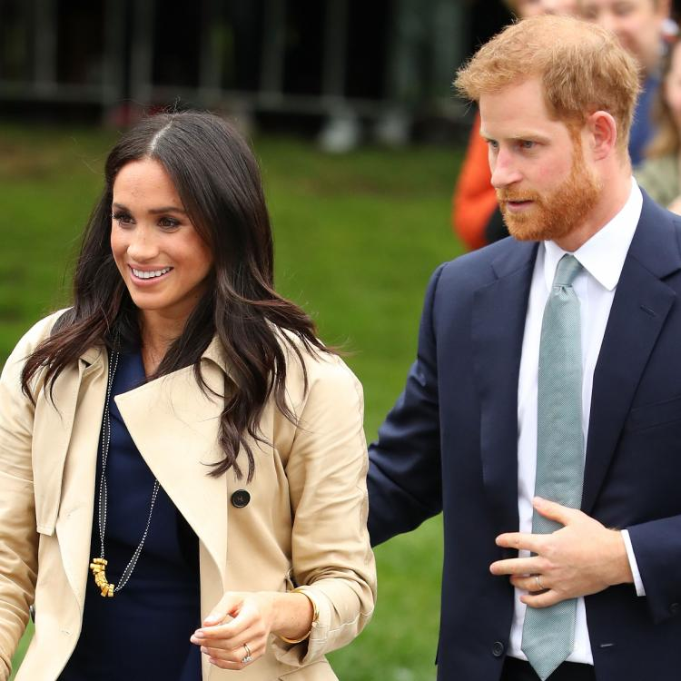 Palace aides want Prince Harry and Meghan Markle to drop their titles