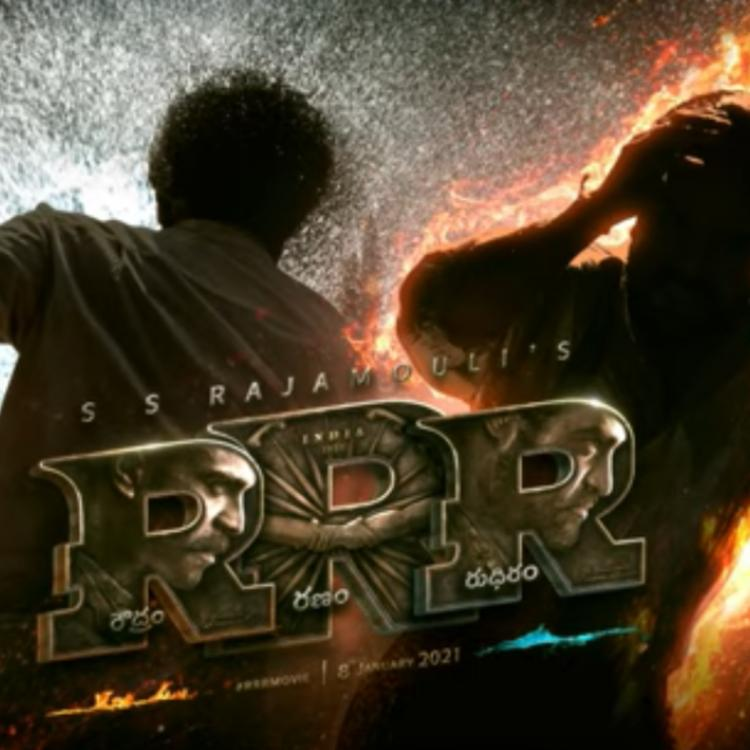 RRR Motion Poster OUT: Ram Charan, Jr NTR are two forces who come together with immense energy