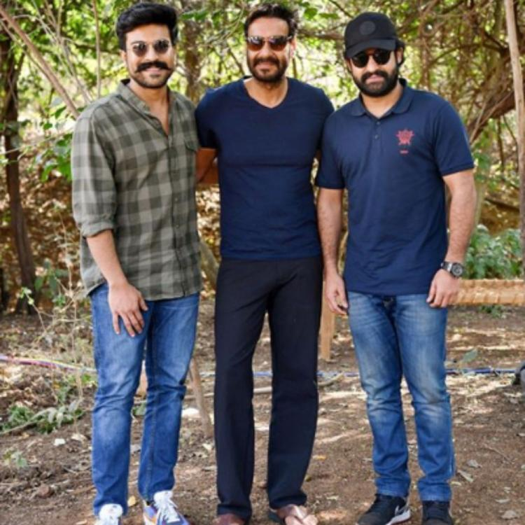 RRR: SS Rajamouli agrees to conduct 'test shoot' on the sets of Ram Charan, Jr NTR starrer