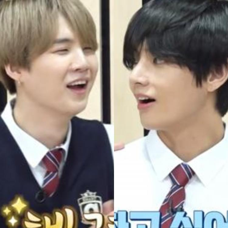 Suga and V's team-up was the highlight of Run BTS Ep 113