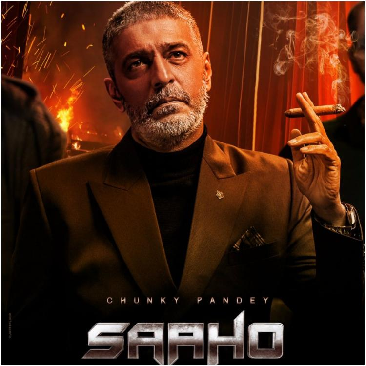 Image result for Chunky Pandey character poster released from the film Saaho