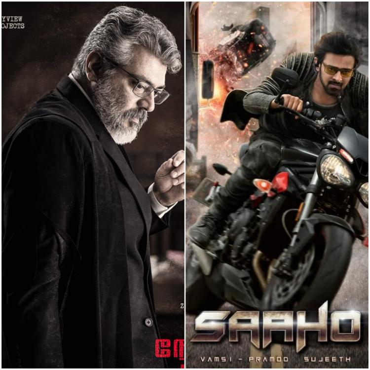 Thala Ajith starrer Nerkonda Paarvai's makers change the release date because of Prabhas' Saaho?
