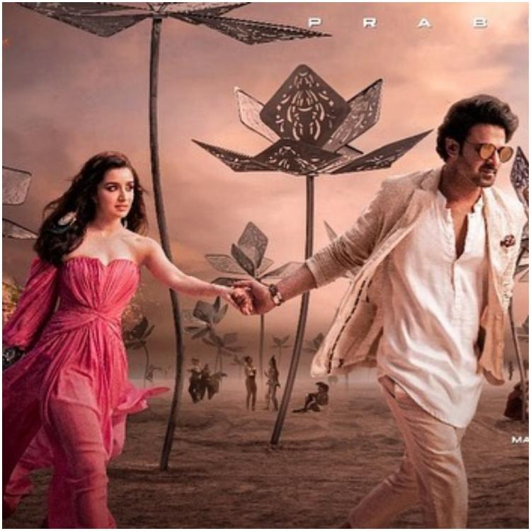 Saaho: Is Prabhas and Shraddha Kapoor's song poster plagiarised from an art installation?