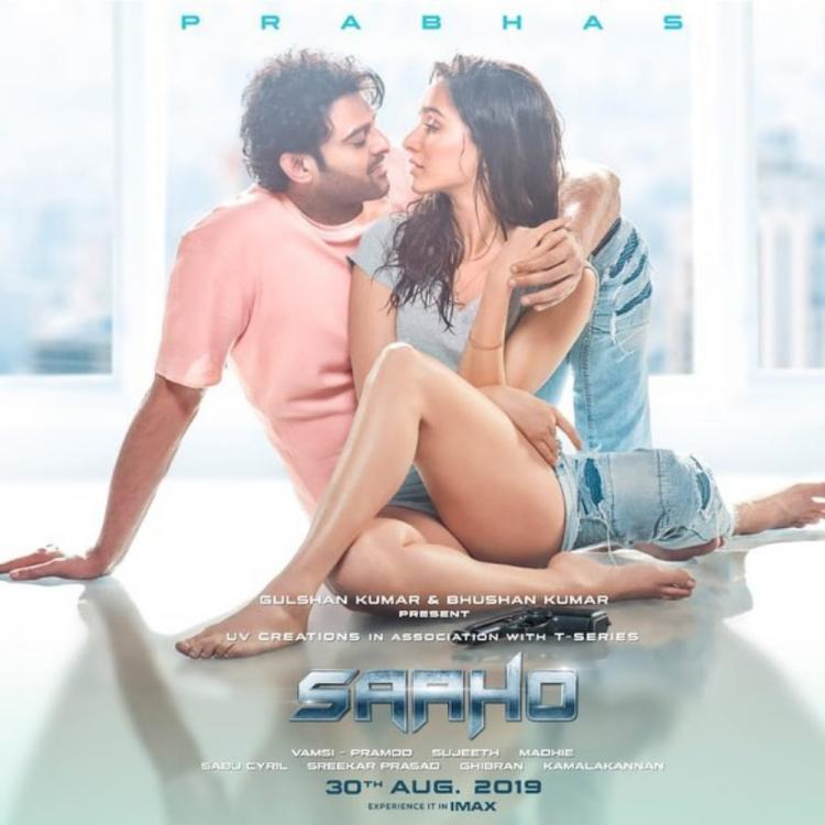 Saaho: Prabhas and Shraddha Kapoor can't take their eyes off each other in a new poster of the action flick