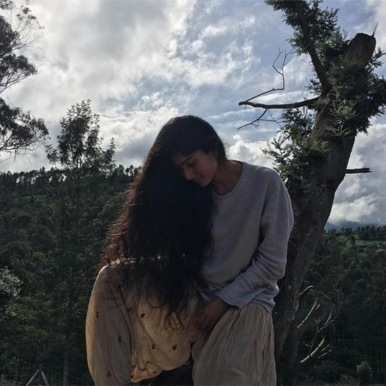 Sai Pallavi is having a whale of a time as she indulges with nature in a hilly region; See PHOTO