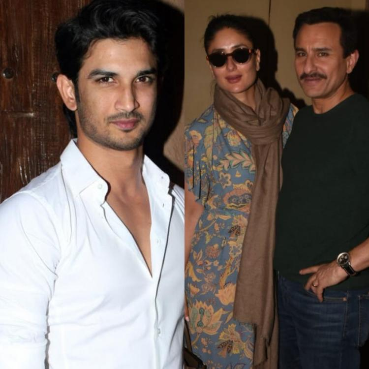 Saif Ali Khan & Kareena Kapoor in shock with Sushant Singh Rajput's demise; Say 'This is such terrible news'
