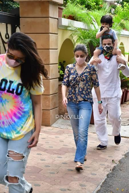 Saif Ali Khan REACTS on being trolled for stepping out without masks with Kareena Kapoor & Taimur Ali Khan