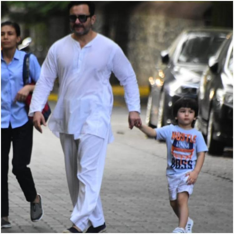 Saif Ali Khan reacts to police informing NOT to bring Taimur out with Kareena Kapoor Khan amid COVID 19 scare
