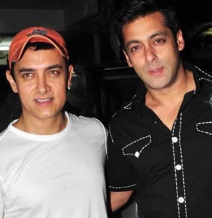 Salman Khan wishes birthday boy 'Laal Singh Chaddha' Aamir Khan & all we want to say is 'It is never too late'