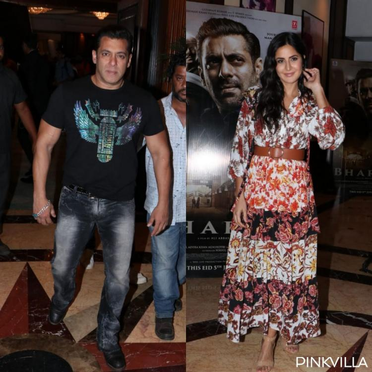 Bharat promotions: Salman Khan and Katrina Kaif step out in style; view PICS
