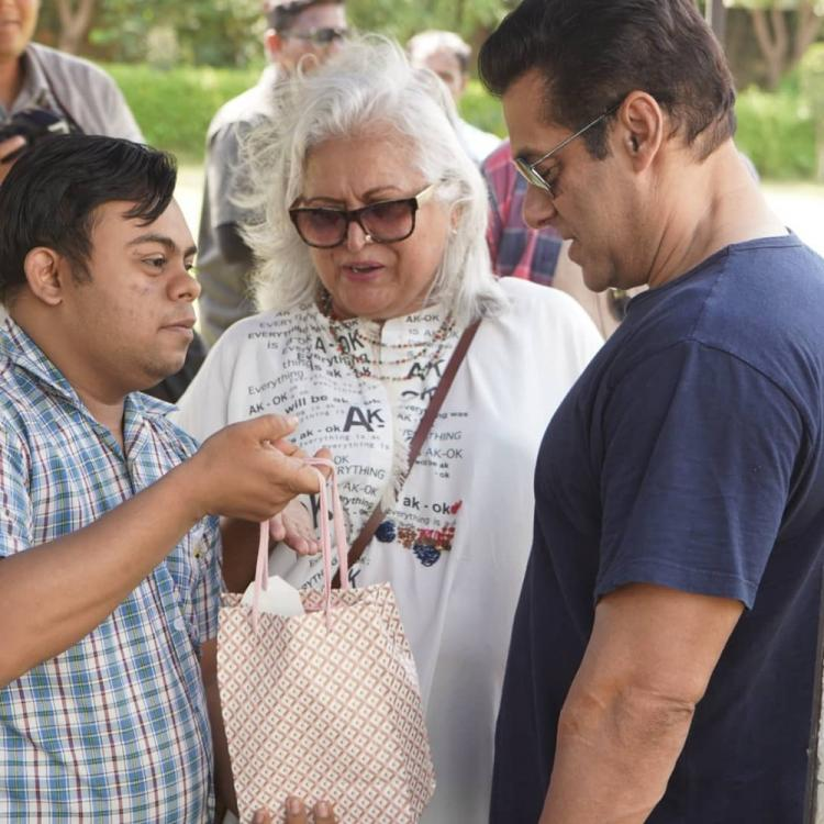 Dabangg 3: Salman Khan got THIS as a gift from specially abled kids while shooting for the film; Find Out