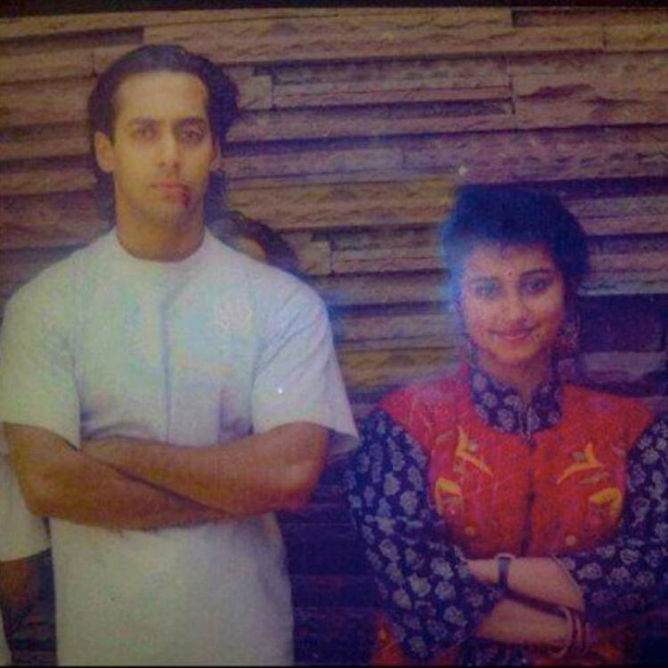 Flashback Friday: Salman Khan & Divya Dutta's similar pose is the perfect blast from the past; See Pic