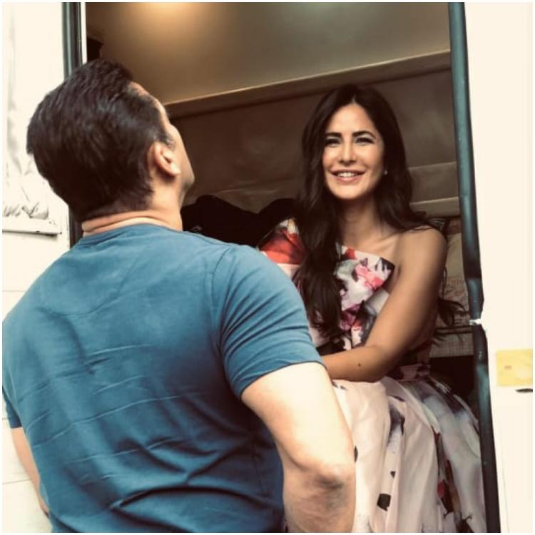 Katrina Kaif and Salman Khan look adorable in this candid pic from Bharat promotions; Check it out