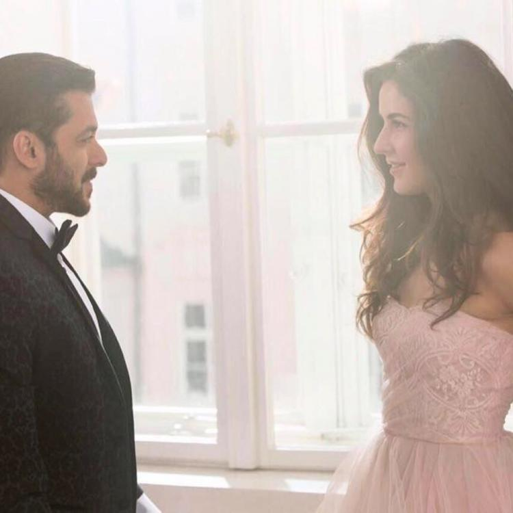 Salman Khan and Katrina Kaif gaze at each other as he wishes Kat on her 37th birthday; See PHOTO