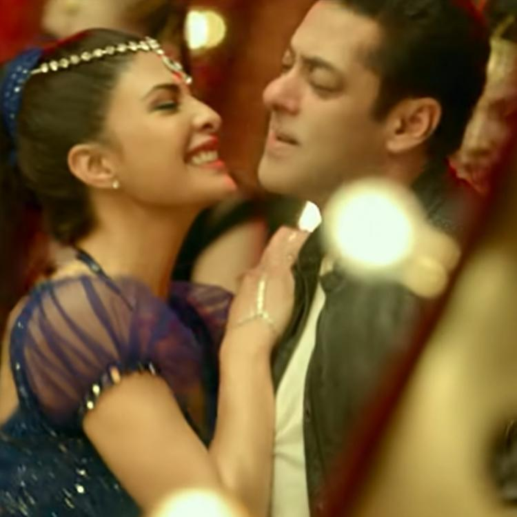 Salman Khan and Jacqueline Fernandez photo from Radhe new song