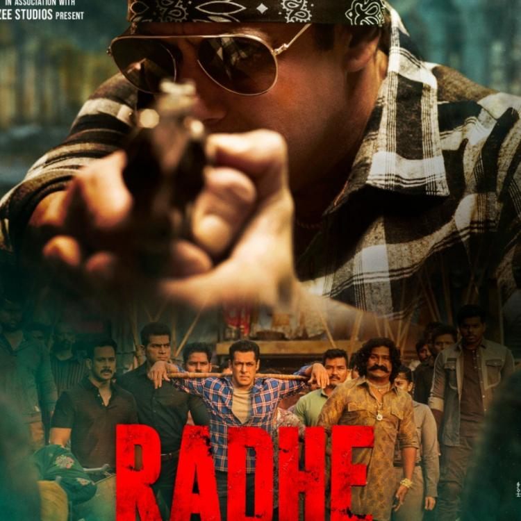 , Salman Khan adds to excitement ahead of Radhe Trailer release with a new intense poster; Says 'Aa Raha Hoon',