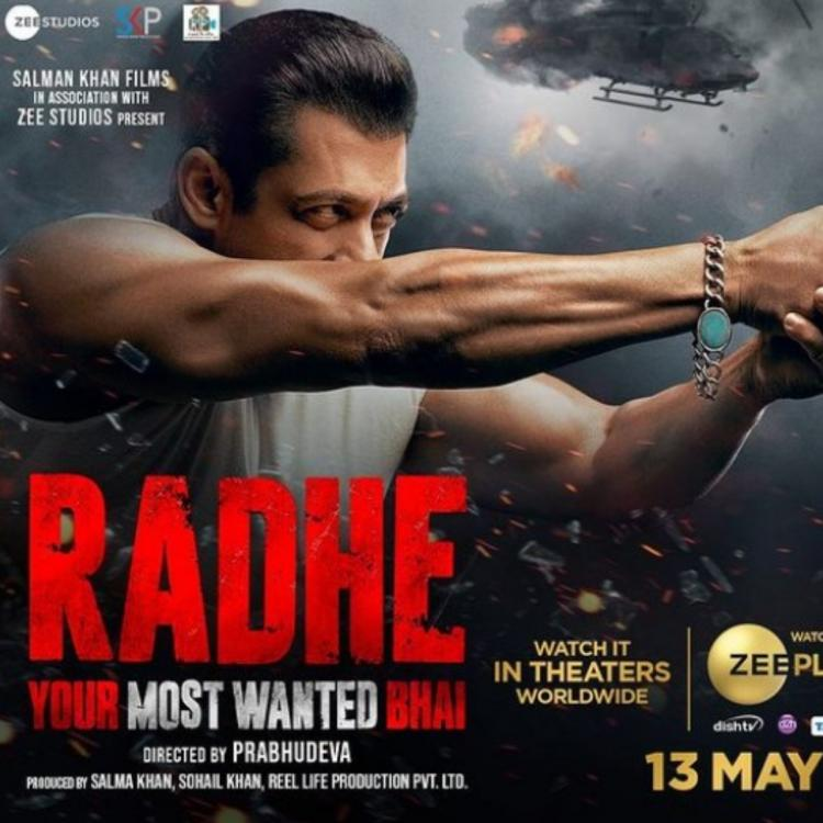 Salman Khan treats fans with a new poster of Radhe ahead of trailer release tomorrow; Says Toh milte hain kal