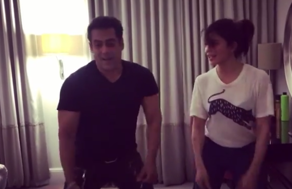 Salman Khan and Jacqueline Fernandez dancing to Tan Tanna Tan in a THROWBACK video is too good to miss