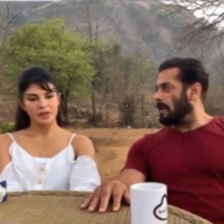 Salman Khan and Jacqueline Fernandez get candid about upcoming song Tere Bina; Watch VIDEO