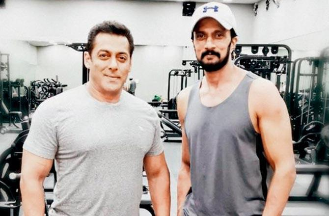 Dabangg 3: Salman Khan's determination is unbelievable, he had a ripped body in a month, says Kichcha Sudeep