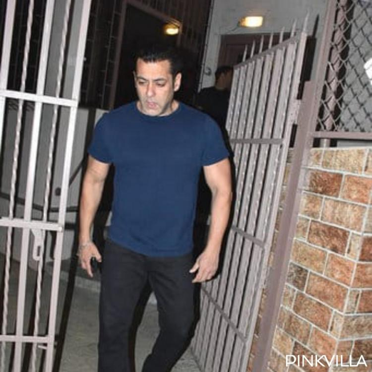 Photos: Salman Khan dons a casual look as he walks out of a recording studio
