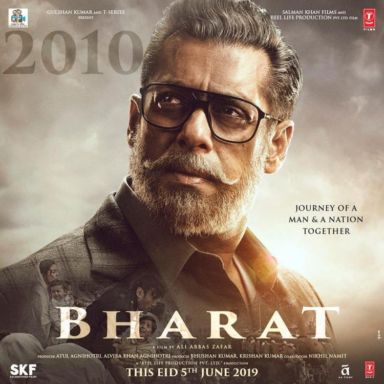 Salman Khan's THIS look from Bharat took the longest to achieve; Details Inside