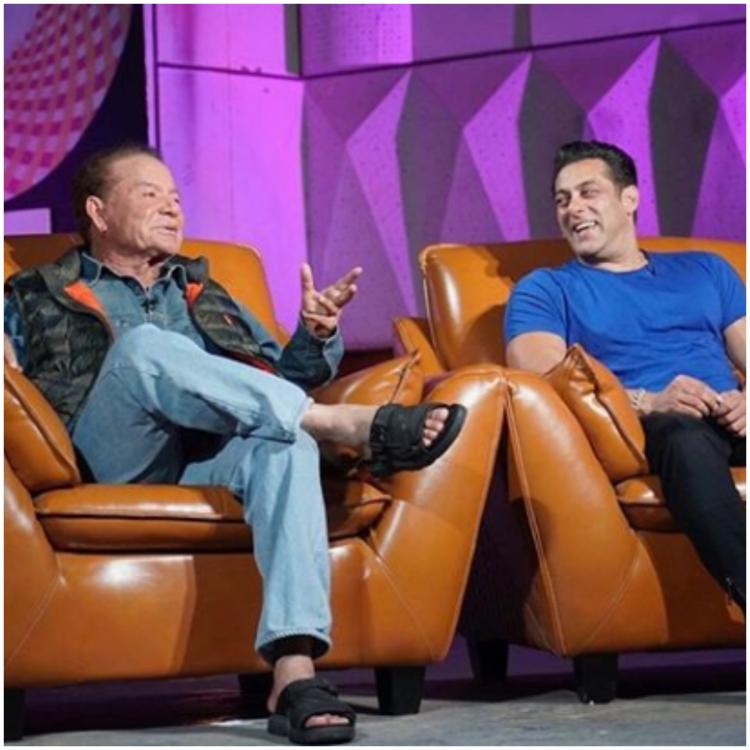 Salman Khan is in sheer admiration of father Salim Khan; says 'He talks to us at our wavelength'