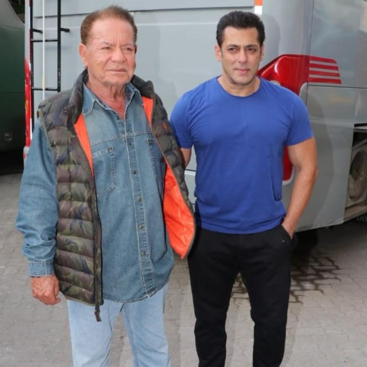 Salman Khan shares an endearing photo with father Salim Khan and wishes him on his birthday; Check it out