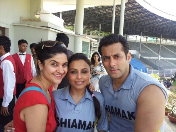 Video,salman khan,rani mukerji,'Junoon' Celebrity Cricket Match