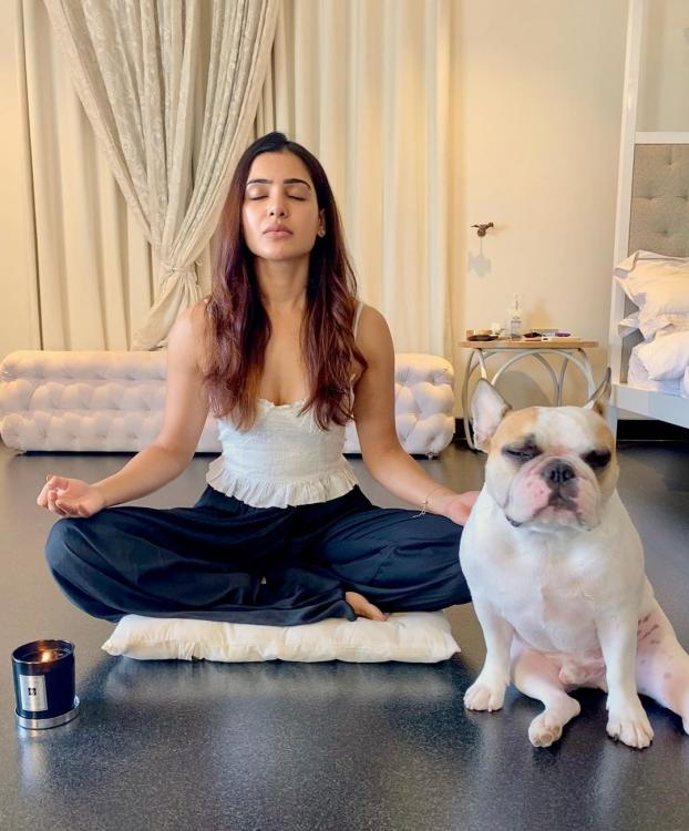 Samantha Akkineni begins a 48 day new health routine to live life fullest; Shares photos from her yoga session