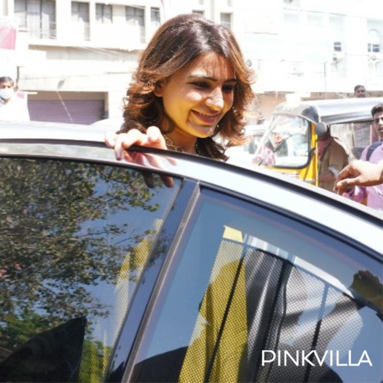 Samantha Akkineni keeps things effortless in a kurta as she gets papped during an event in Hyderabad