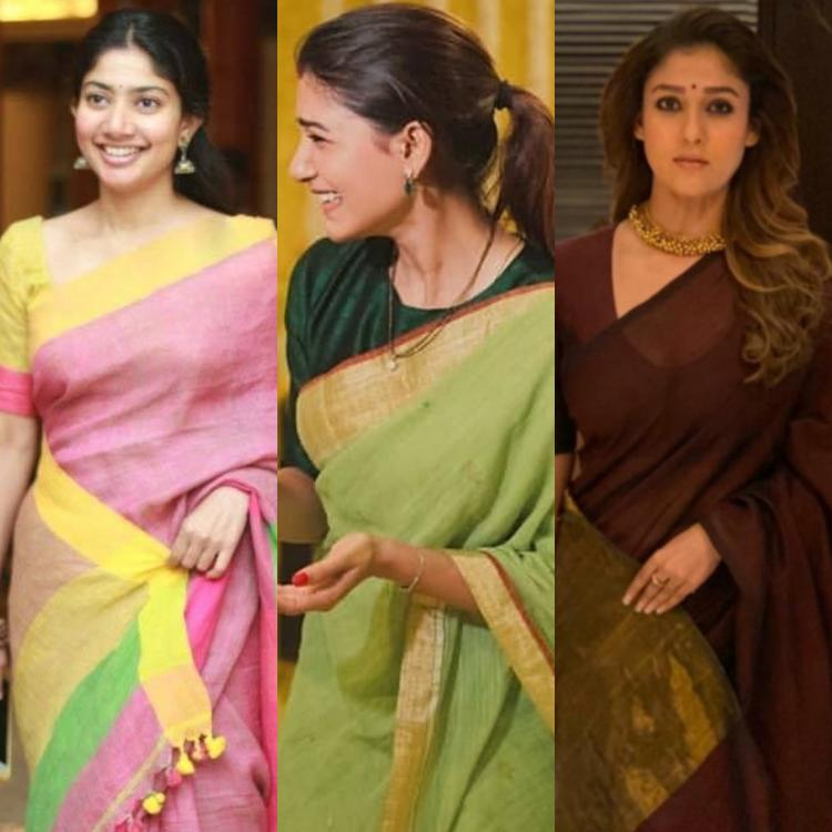 Samantha Akkineni, Sai Pallavi to Nayanthara: 6 Times South actresses showed us how to wear handloom sarees