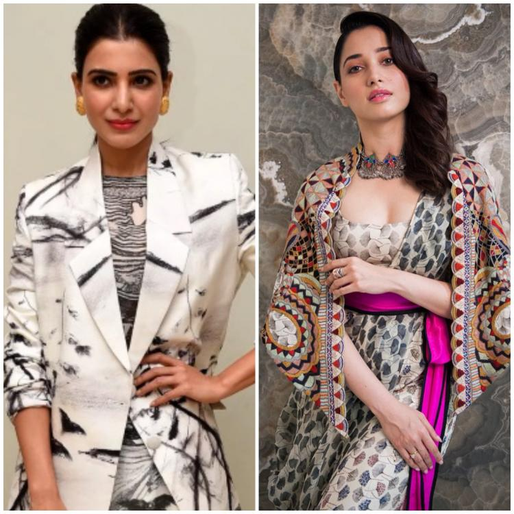 Samantha Akkineni, Tamannaah Bhatia to Pooja Hegde: 5 Times celebs brought on the funk with quirky outfits