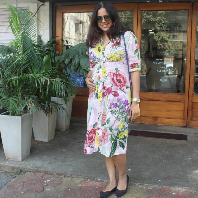 Sameera Reddy has THIS to say on post-pregnancy weight