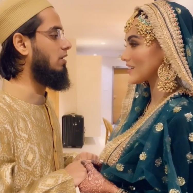Sana Khan and Anas Saiyed celebrated 1 month of marriage