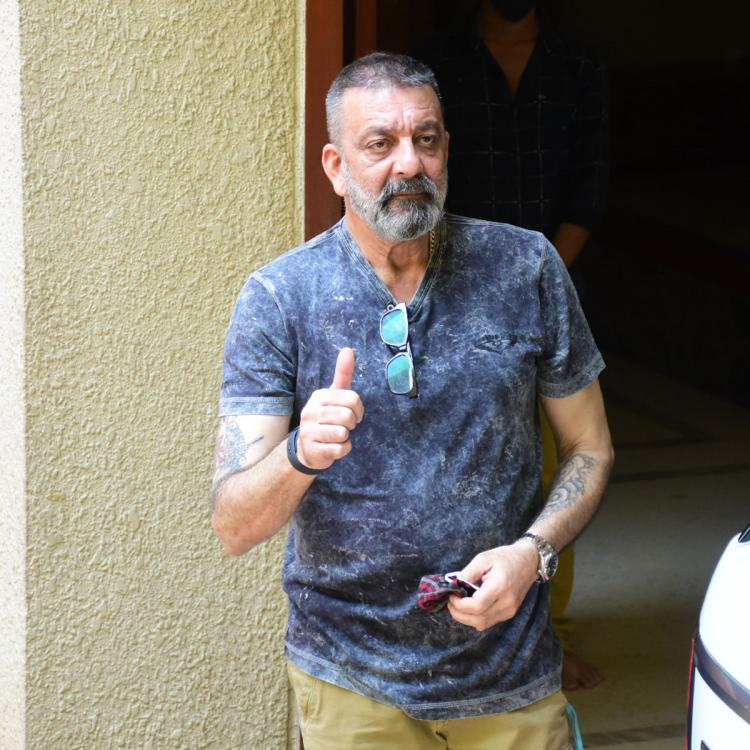 Sanjay Dutt announces his victory over cancer; Calls it the best gift for Shahraan and Iqra's 10th birthday