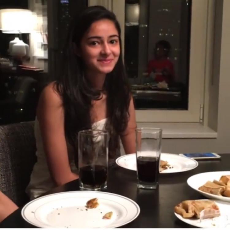 Throwback: When Sanjay Kapoor pulled Ananya Panday's leg while offering her a film; WATCH