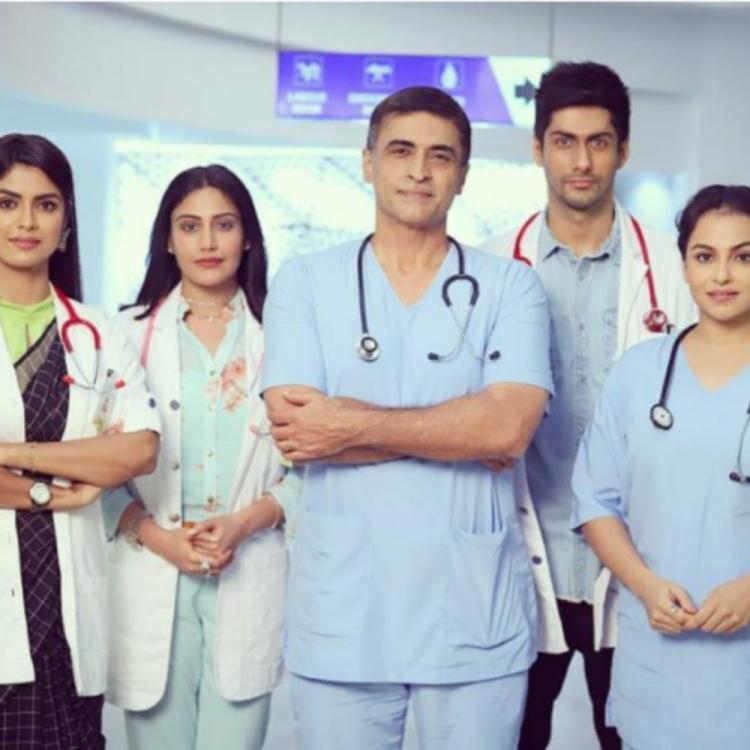 Surbhi Chandna & Team Sanjivani interact with real life doctors on sets; here is what the actress has to say