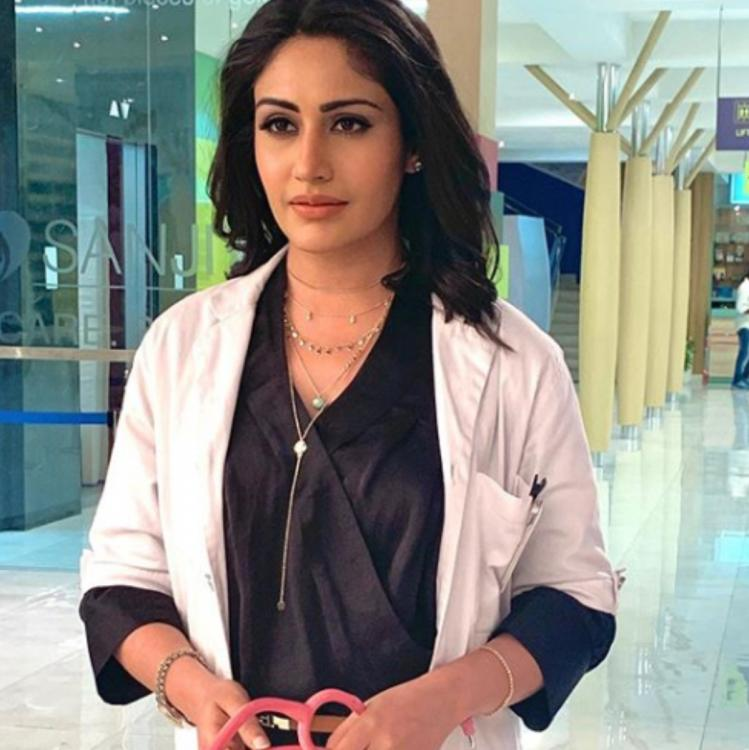 Sanjivani star Surbhi Chandna goes the Dr Ishaani way to send Doctor's Day wishes; Thanks medical fraternity